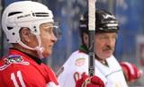 Путин и Лукашенко прервали переговоры в Сочи ради игры в хоккей