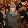 Навальный пришел на допрос о картинке на заборе