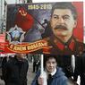 Портрет Сталина вызвал неоднозначную реакцию в городах экс-СССР