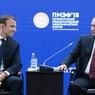 Владимир Путин встретился во Франции с Эмануэлем Макроном