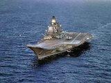 """Авианосец """"Адмирал Кузнецов"""" направился к берегам Сирии с истребителями на борту"""