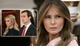 «Вы знаете, какие они змеи!»: Меланья Трамп высказалась об Иванке Трамп и Джареде Кушнере