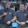Космонавты поздравили россиян с Новым годом с борта МКС