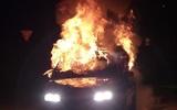 Три автомобиля вспыхнули после массового ДТП на северо-западе Москвы