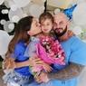 Гостями на дне рождения дочери Оксаны Самойловой и Джигана были питон и пантера