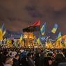 Майдан замер и приготовился к атаке силовиков (ФОТО)