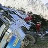 На западе Боливии перевернулся автобус с интуристами, 10 человек