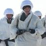 Российские десантники высадились на дрейфующей льдине