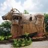 В Бельгии туристы могут поселиться внутри троянского коня