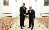Президент Сербии рассказал о консультациях с Путиным
