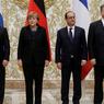 Путин прибыл в Париж на встречу лидеров «нормандской четверки»