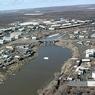 Взлетно-посадочная полоса в Среднеколымске частично затоплена