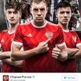 Футбольная сборная России переоденется в ретро-форму
