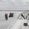В Конаковском районе автомобиль с двумя детьми и двумя мужчинами провалился под лед