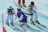 Французы завоевали все три награды в ски-кроссе, Коротков - 5-й