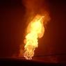 Прорыв газопровода в ЯНАО: высота горящего факела достигает 20 метров