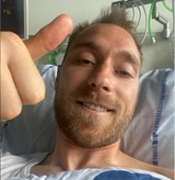 Перенесший остановку сердца футболист Эриксен обратился к болельщикам из больницы