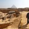 В древнейшей пирамиде Египта найдена статуя бога Осириса