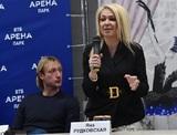 За дело об угрозах сыну Рудковской и Плющенко взялось МВД