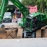 Строительство Керченского моста идет и днем, и ночью