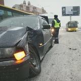 В Омске перевернулась маршрутка, один человек погиб