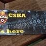 Жители Манчестера нашли нацистские стикеры с символикой ЦСКА (ФОТО)