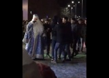 Драка с участием Дедов Морозов под Волгоградом попала на видео