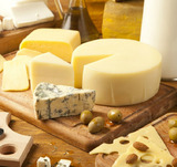 Романтический зимний завтрак: сыр и фрукты (ФОТО)