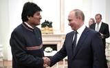 Главы России и Боливии приняли совместное заявление по итогам встречи в Кремле