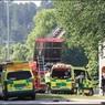 Появилось видео с места взрыва в шведском Линчёпинге