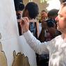 Тайный поклонник украл автограф Медведева