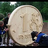Утро на Московской бирже началось со снижения курса рубля