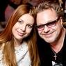 Владимир Пресняков с беременной женой пришел сдавать госэкзамен (ФОТО)