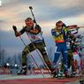 Биатлон: Стою на траве я в лыжи обутый...