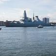 В ВМС США назвали цели зашедшего в Чёрное море ракетного эсминца Carney